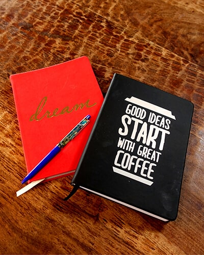 Good ideas start with great coffee. Don't you agree?